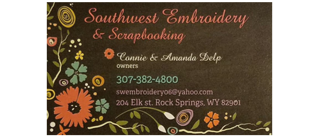 Southwest Embroidery