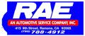 RAE An Automotive Service Company