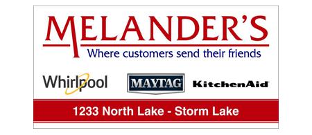 Melanders Storm Lake