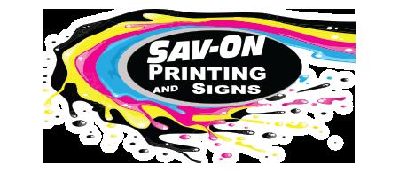 Sav-ON Printing and Signs