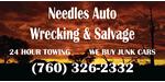 Needle Auto Wrecking